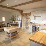 Large family farmhouse kitchen
