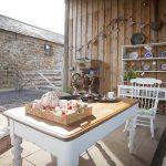 Alfresco dining garden furniture