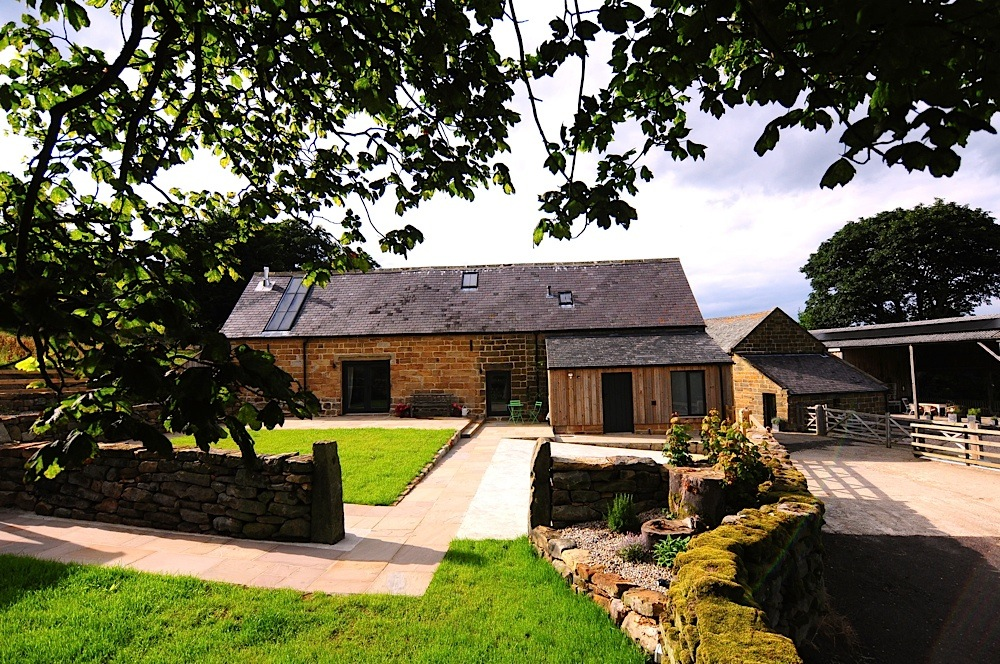 Private family friendly gardens North York Moors luxury holiday cottage