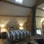 Big brass bed, luxury mattresses and crisp cotton bed linen.