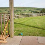 View from a North York Moors Holiday Cottage