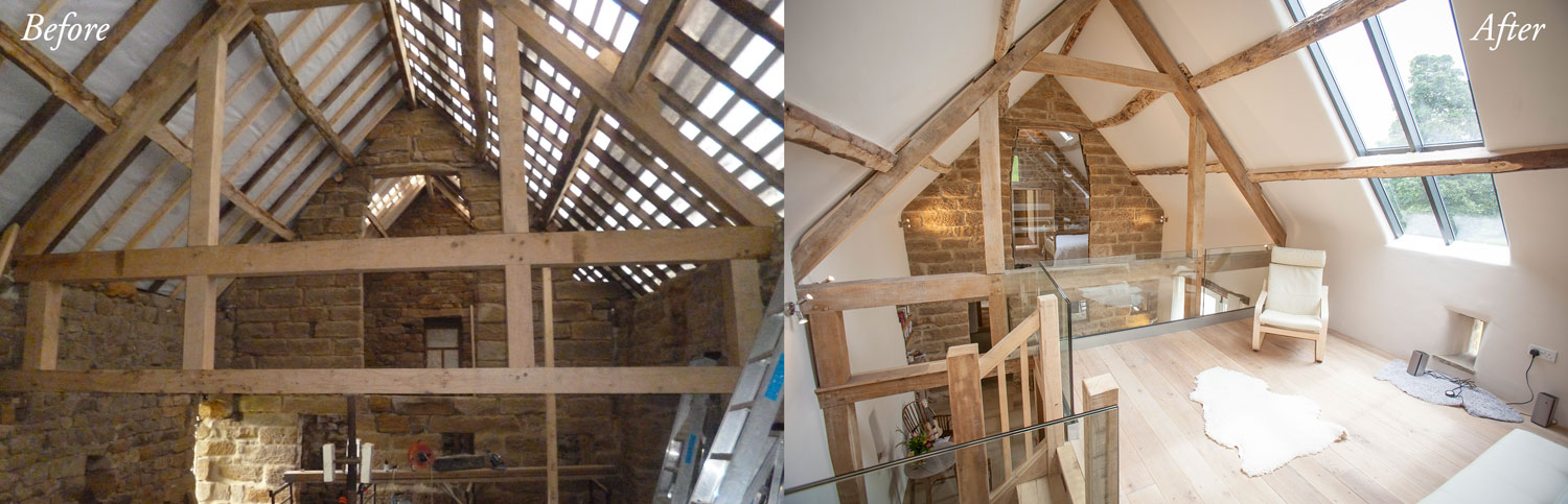 Crag House Farm - Before and After