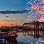 Whitby welcomes in the New Year 2015
