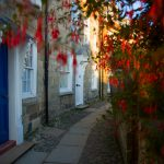 Autumnal streets of Robin Hoods Bay