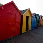 Beach huts of Whitby