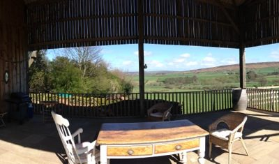 Family friendly gardens at a North Yorkshire holiday home