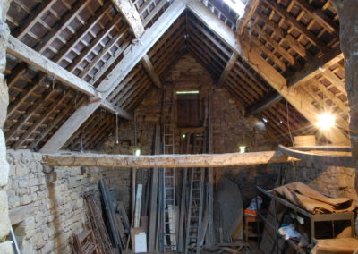 Grade ll listed barn in North York Moors