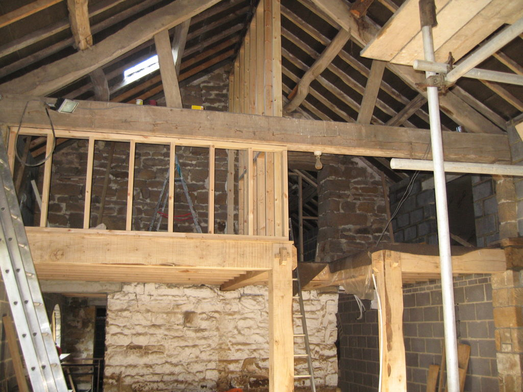 Converting a North York Moors barn