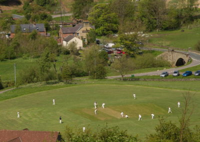 Summer cricket in the North York Moors