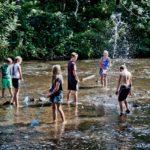 Lealholm splashing around Credit Chris J Parker_NYMNPA