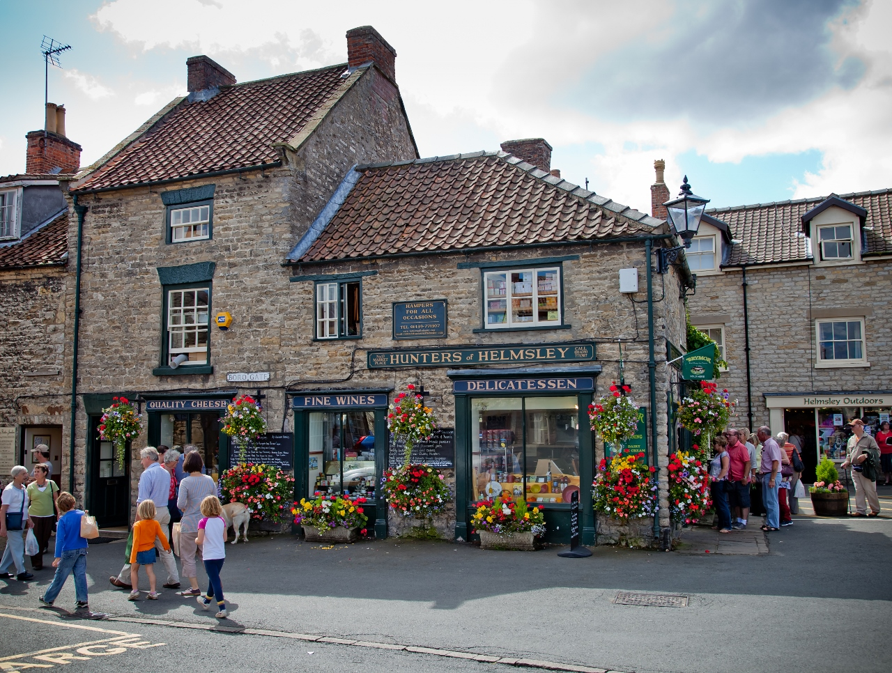 Boutique shopping in Helmsley