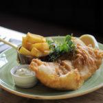 © Tony Bartholomew Delicious fish and chips!