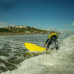 Holiday fun: Surfing at the beautiful Victorian seaside town of Saltburn with Flow Surf School