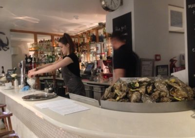 Whitby's oyster bar