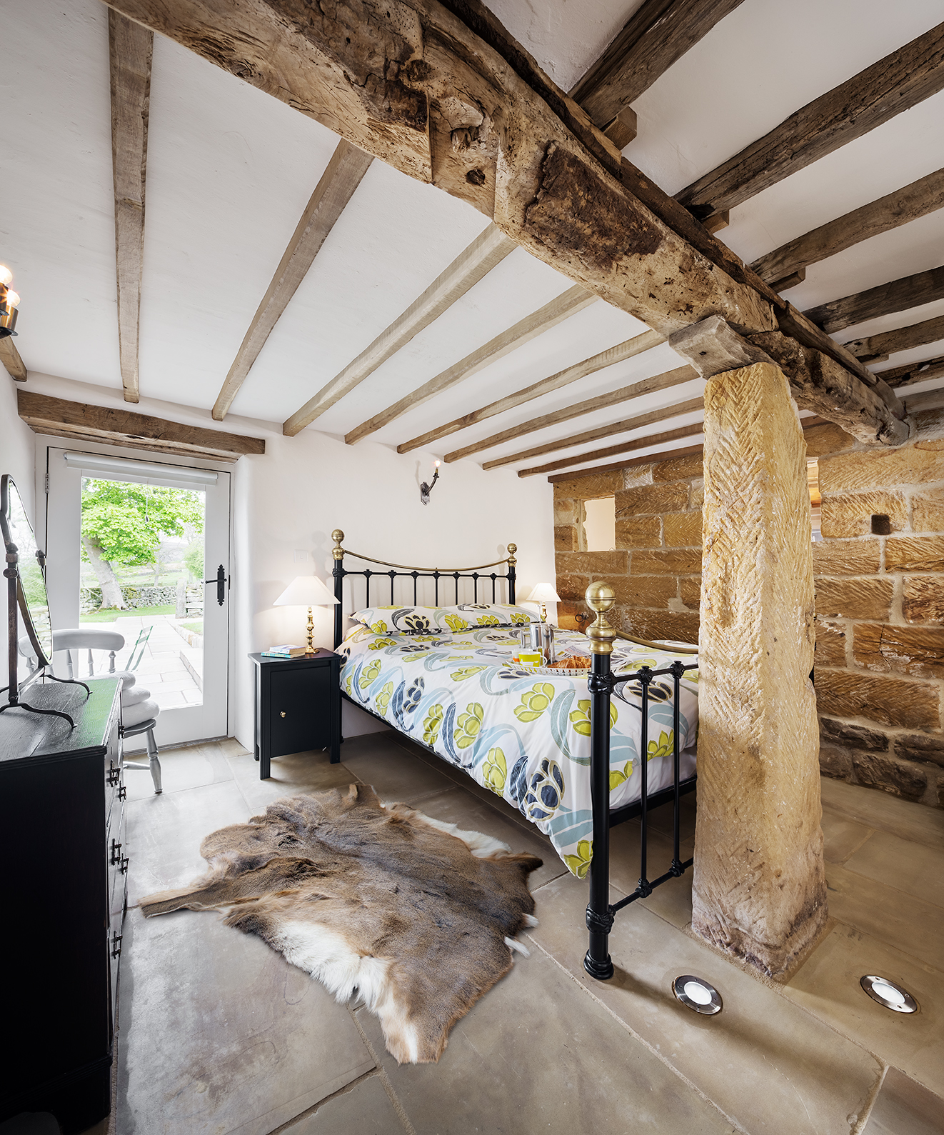 characterful ground floor bedroom