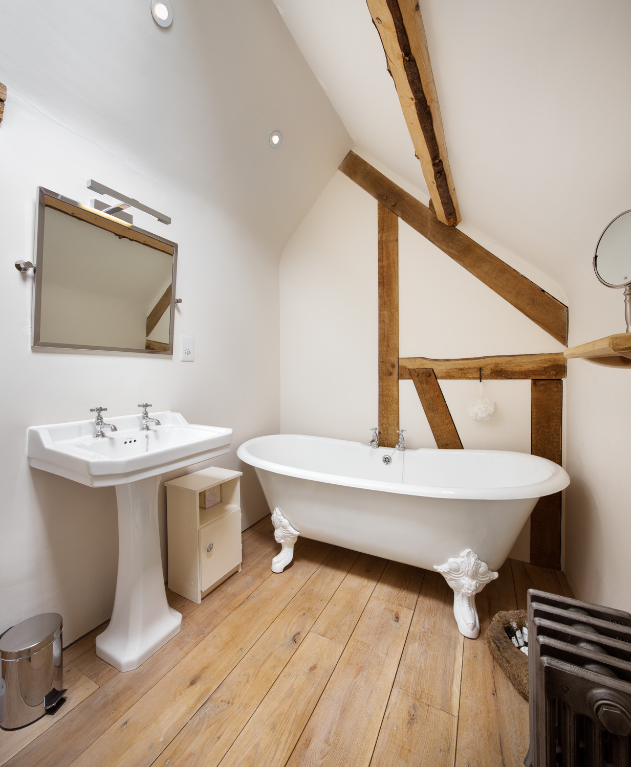 Beautiful bathroom in a luxury holiday cottage North York Moors Whitby