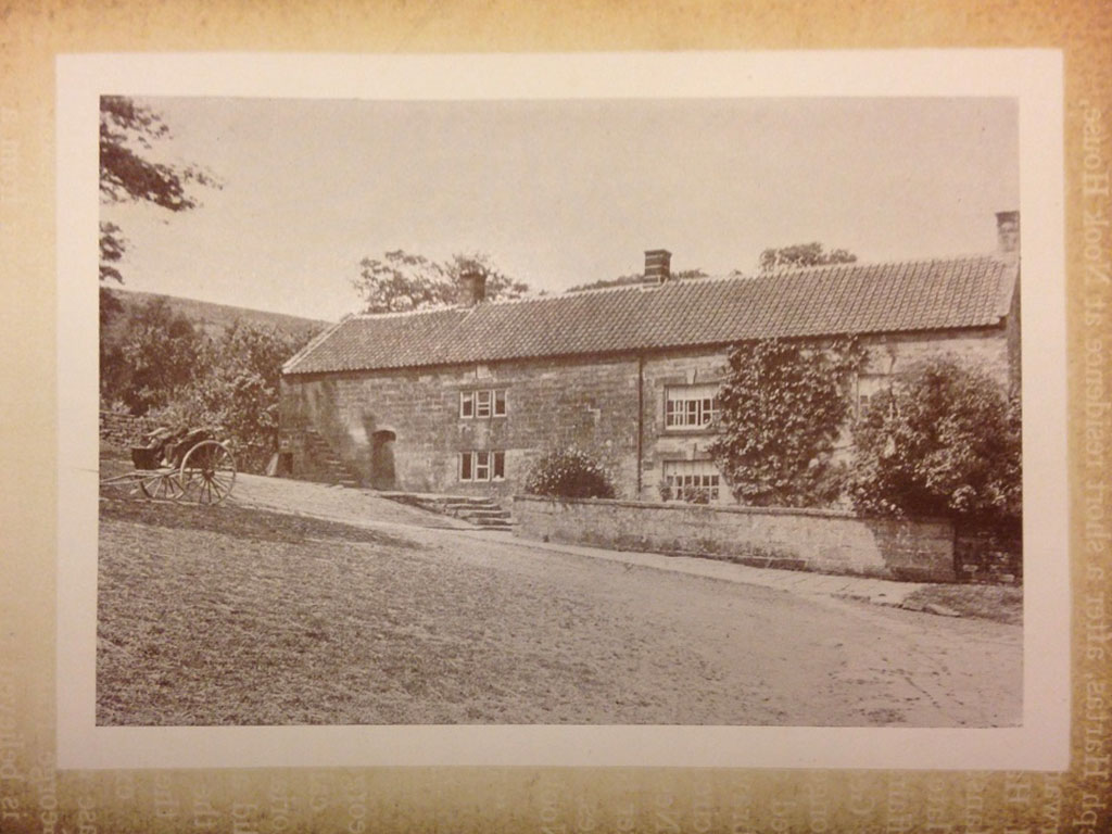 Crag House Farm little changed since this time 1890